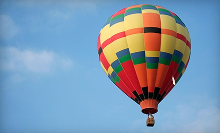 Hot-Air-Balloon Ride and a Sparkling Beverage for One, Two, or Four from Boise Hot Air Company (Half Off)