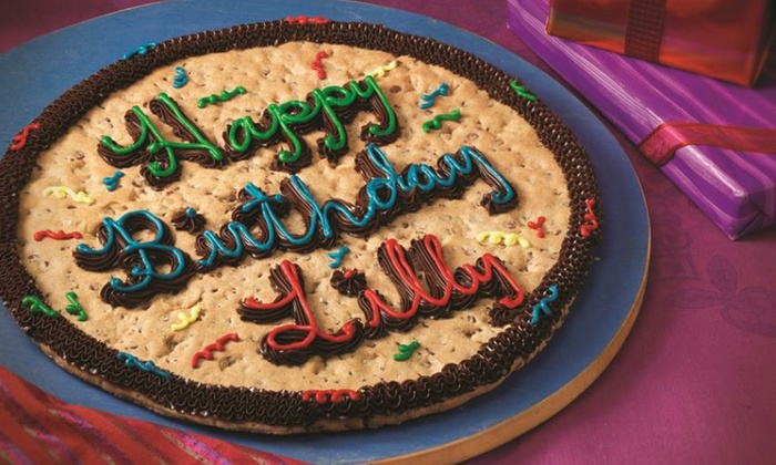 Mrs Fields - at The Falls Mall: One 16-Inch Cookie Cake or Four $6 Groupons Good Toward Cookies and Brownies at Mrs. Fields (Up to 50% Off)
