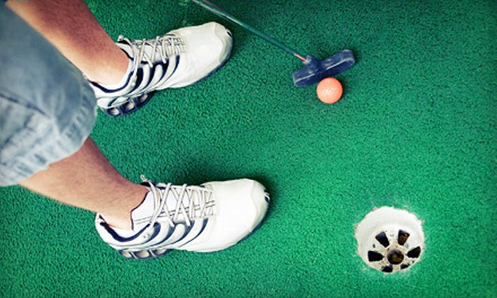 Putt 'N Play at Jeronimo! - Roswell: Mini Golf for Two or Four at Putt 'N Play at Jeronimo! (Up to 53% Off)