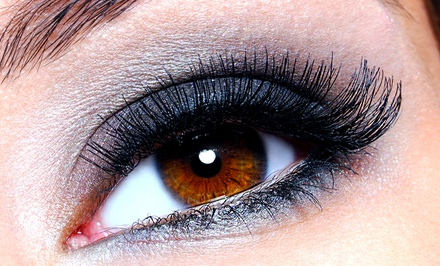 Eyelash Extensions with One or Two Touch-Ups with Vera at Alonsay Salon (Up to 67% Off)