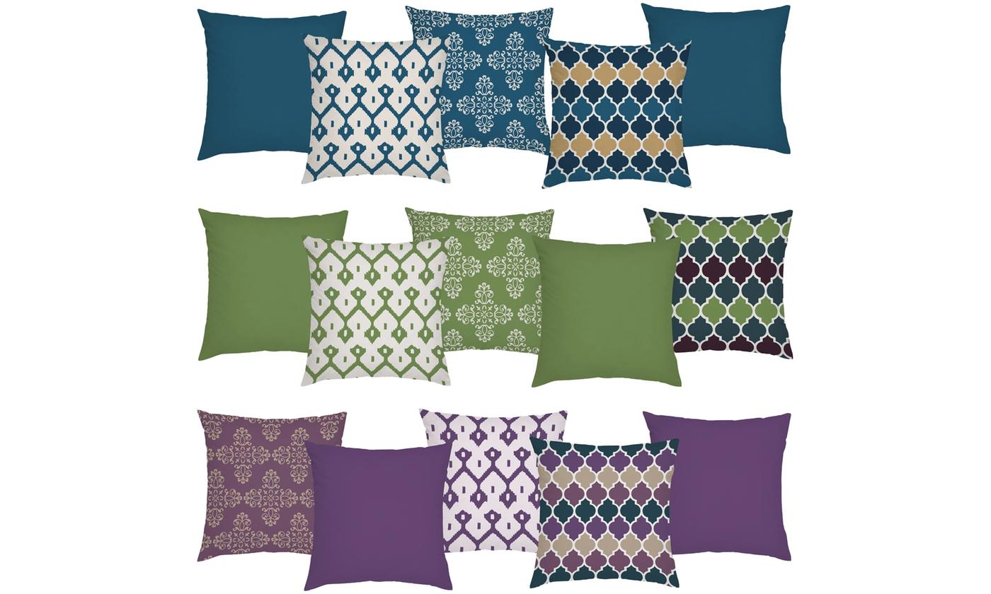 Five-Piece Outdoor Cushion Cover Sets (£37.99)