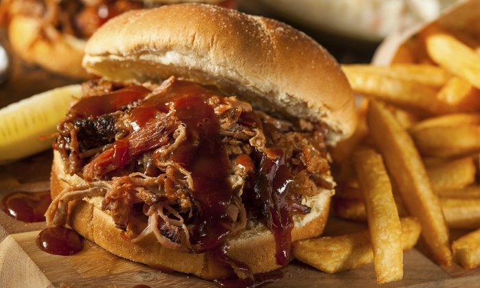 Smokie's Bar B-Q - Preston Highlands: $11 for $20 Worth of Barbecue for Two at Smokie's Bar B-Q