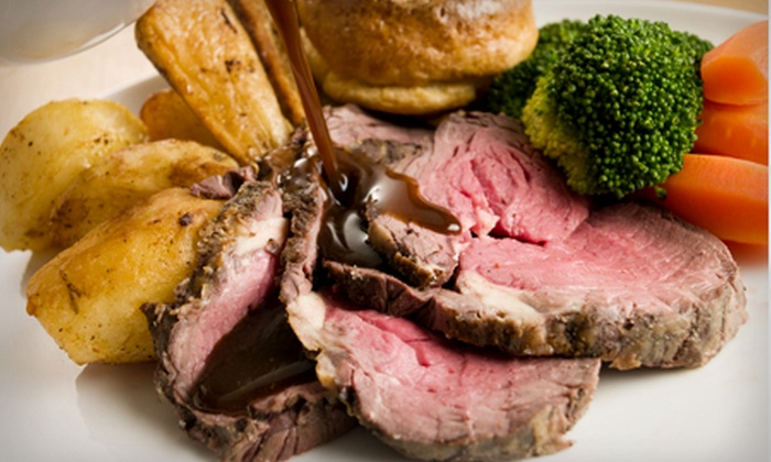 The Ferry - The Ferry: Three-Course Sunday Lunch For Two People for £12 at The Ferry (52% Off)