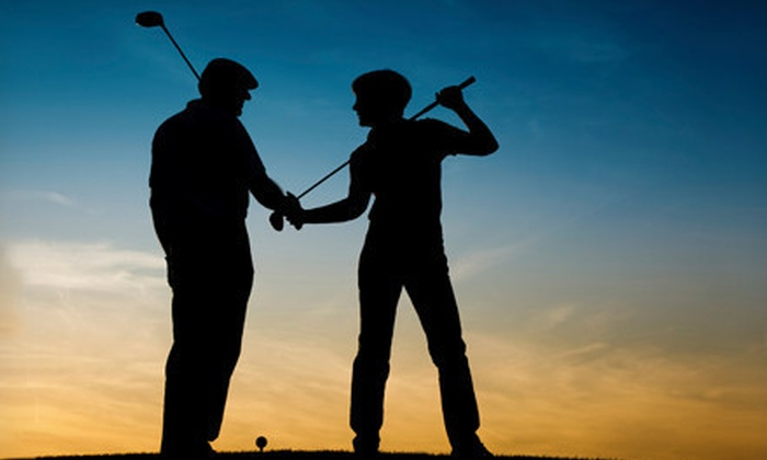 City Golf Boston - Multiple Locations: 1- or 2.5-Hour Simulator Session, or 1 or 5 Hours of Private Golf Lessons at City Golf Boston (Up to 55% Off)