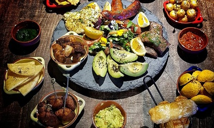 14Dish Colombian Tasting Banquet + Wine $39, 4 $78 or 6 Ppl $117 at Aluna Restaurant Up to $233.70 Value