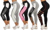 LOVE Graphic Women's High-Waisted Activewear Tight Capris
