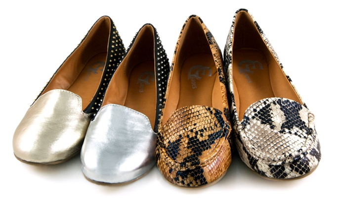 GC Shoes Studded or Snakeskin Loafers: GC Shoes Studded or Snakeskin Loafers. Multiple Colors Available. Free Returns.