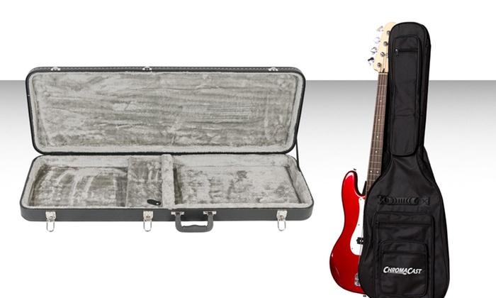 e37bb75443a Bass Guitar Gig Bag or Hard Case | Groupon Goods