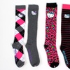 6 Pairs of Hello Kitty Women's Knee-High Socks