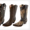 $94.99 for Gypsy Girl Genuine Leather Cowboy Boots