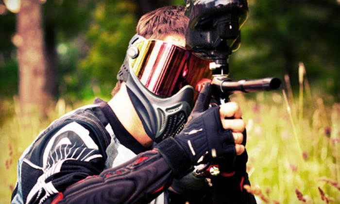 Off the Wall Adventures - Off The Wall Adventures: Paintball Outing with Equipment and Paintballs for Two, Four, or Eight at Off the Wall Adventures (Up to 57% Off)