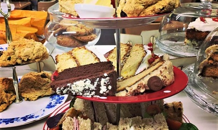 Traditional or Luxury Afternoon Tea for Two or Four at The Cosy Tearoom