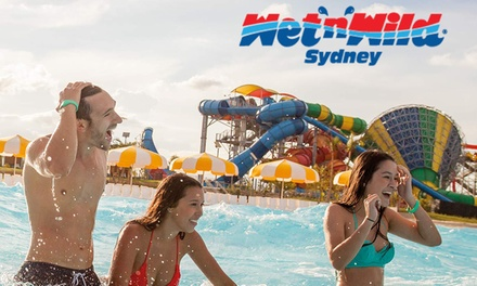 Wet n wild sydney discount coupons