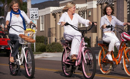 3-Hour Electric-Bike Tour for 1 (a $69 value) - Pedego Electric Bikes in Huntington Beach