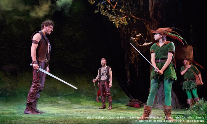 """""""The Heart of Robin Hood"""" - Royal Alexandra Theatre: """"The Heart of Robin Hood"""" at Royal Alexandra Theatre on February 24–March 8 (Up to 42% Off)"""