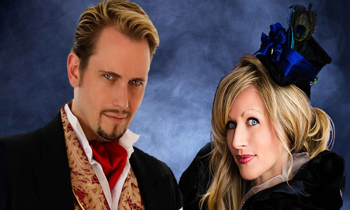 """Intrigue Theater – """"The Illusionist & The Medium"""" - Eureka Springs: Intrigue Theater – """"The Illusionist & The Medium"""" on February 8, March 28, or March 29 (Up to 47% Off)"""