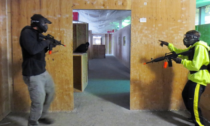 Xtreme Action Sports - Walpole: All-Day Airsoft Package with Equipment Rental for Four, Six, or Eight at Xtreme Action Sports (Up to 62% Off)