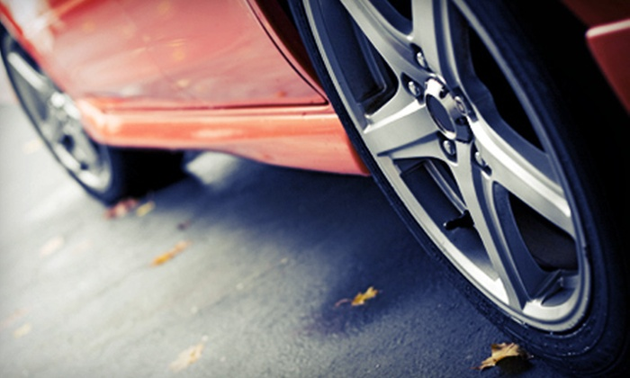 All American Car Wash - Evansville: One or Three Car Washes with Tire Shines at All American Car Wash (Up to 54% Off)