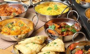 RajMahal-Restaurant Dresden: Indisches vegetarisches 3-Gänge-Thali-Menü für 2, 4 oder 6 Personen im RajMahal-Restaurant Dresden(35% sparen*)