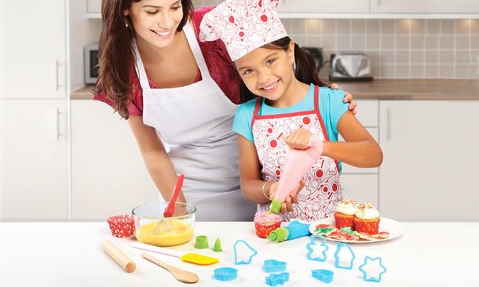 Discovery Kids Baking Set: Discovery Kids 24-Piece Baking Set. Free Returns.