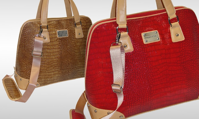 Adrienne Vittadini Laptop Satchels: $39.99 for an Adrienne Vittadini Laptop Satchel (Up to $180 List Price). 4 Styles Available. Free Shipping and Returns.