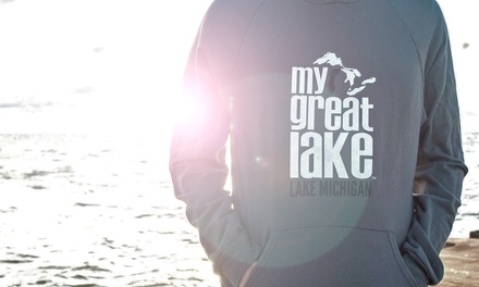 $15 for $30 Worth of Great Lake–Themed T-Shirts and Sweatshirts from My Great Lake