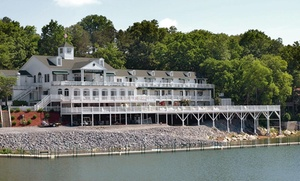 Lakeside B&B amid Great Smoky Mountains at Mountain Harbor Inn, plus 6.0% Cash Back from Ebates.