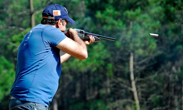 DeWitt's Outdoor Sports, LLC - Ellerbe: Clay-Shooting Package for Two or Four at DeWitt's Outdoor Sports, LLC (Up to 51% Off)