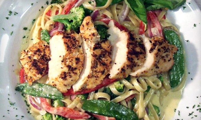 Crave Grill - Walkerville: $15 for $30 Worth of Steaks, Seafood, and Sandwiches at Crave Grill