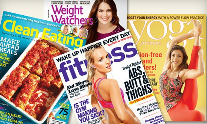 Subscription to Healthy-Living Magazines: Subscription to Your Choice of Four Healthy-Living Magazines (Up to 52% Off)