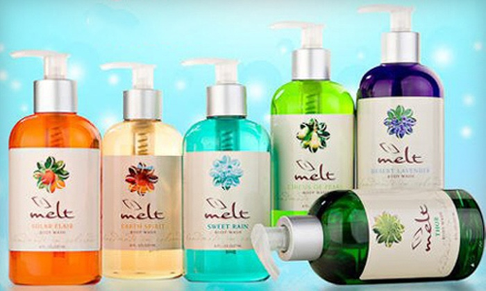 Melt Bath & Skincare Online Boutique - Westminster: Spa Gift Set or $25 for $50 Worth of Bath and Skincare Products from Melt Bath & Skincare Online Boutique
