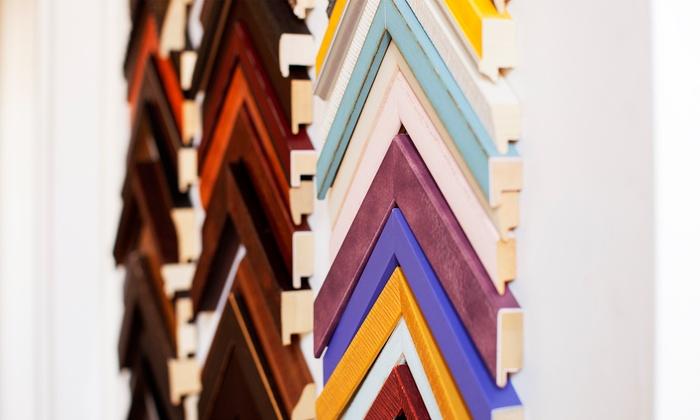 Rossier's Art Gallery - Pine: Gallery Artwork or Custom Framing at Rossier's Art Gallery (Up to 50% Off)