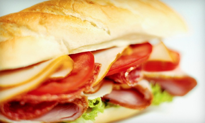 The Connection - Pennock Place: $10 for $20 Worth of Subs and Sandwiches at The Connection