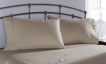 groupon daily deal - Camden 100% Egyptian Cotton Sheet Set. Multiple Sizes from $29.99–$44.99. Free Returns.
