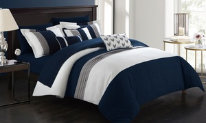 Anara Microfiber Comforter Set with Sheets (8- or 10-Piece)