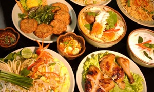 Bangkok Thai Street Food: Menu thai da 4 portate e birra d'asporto al ristorante Bangkok Thai Street Food (sconto fino a 46%)