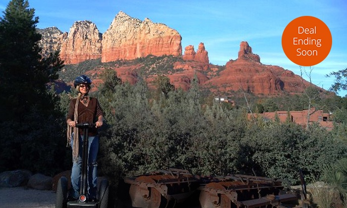 Adventures Out West - Multiple Locations: Desert Segway Tour for One or Two from Adventures Out West (Up to 50% Off)