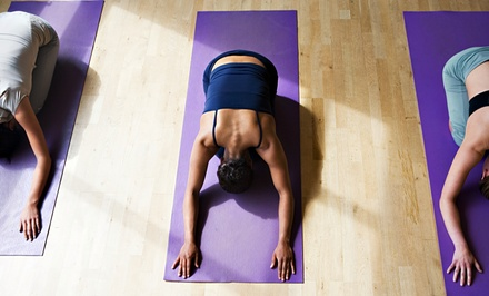 One Month of Unlimited Yoga Classes or a FourWeek Yoga Series at Art of Yoga (Up to 61% Off)