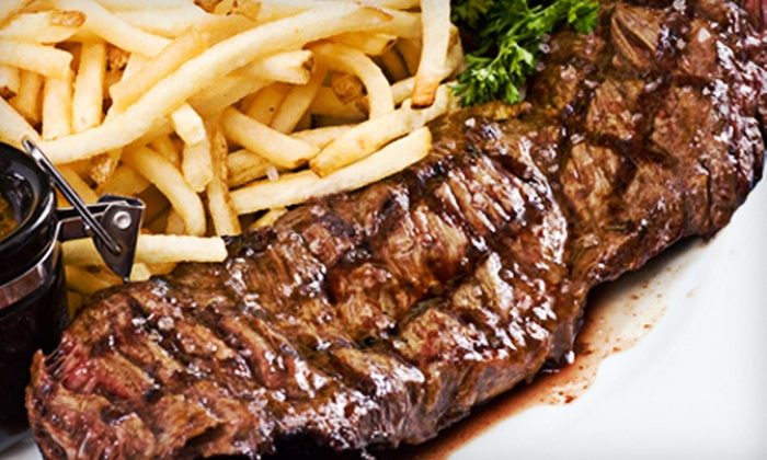 Catch 22 - South Gary: Drinks and Dinner or Lunch at Catch 22 in Merrillville, IN (Half Off). Two Options Available.