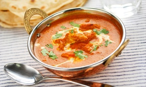 Indian Cottage Albion Street: Two-Course Indian Meal With Sides For Two (£14) or Four (£26) at Indian Cottage Albion Street (Up to 61% Off)