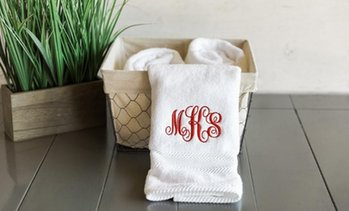 Personalised Luxury Hand Towel