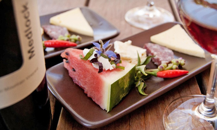 Medlock Ames - Cloverdale-Geyserville: $20 for a Wine Flight and Food Pairing for Two at Medlock Ames ($80 Value)