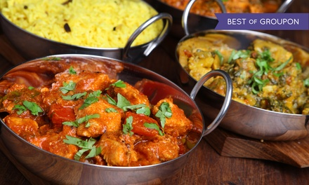 Royal Tasting Menu for Two or $20 for $40 Worth of Indian Cuisine at Indian Bread Bar
