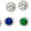 Up to 84% Off Cubic Zirconia Stud Earrings