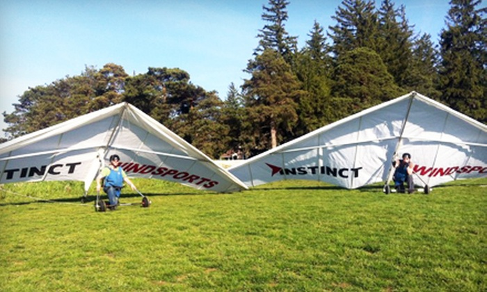 Instinct Windsports - St Jacobs: $69 for a Hang-Gliding Discovery Course at Instinct Windsports ($120 Value)