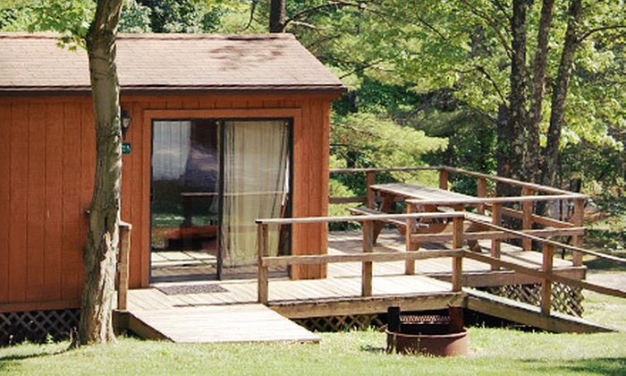 Rocky Fork Ranch Resort - Monroe: $99 for a Two-Night Cabin Stay for Four at Rocky Fork Ranch Resort ($234 Value)