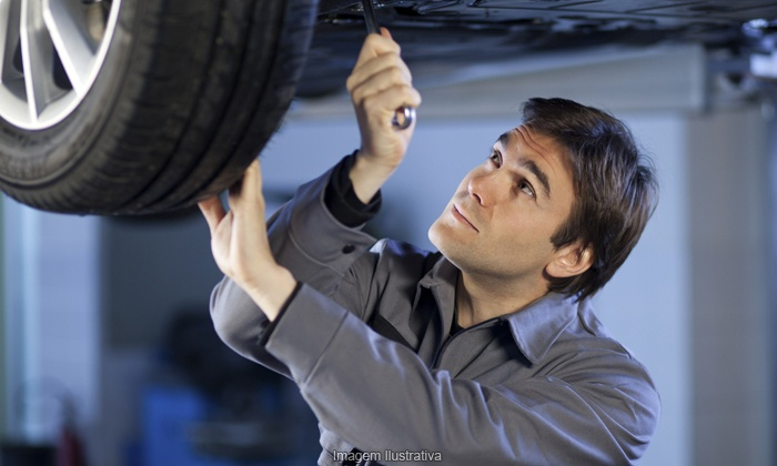 Ace Motorsports Auto Repair - Multiple Locations: Two or Four Wheel Brake Service for SUV, Truck, Van, or Car at Ace Motorsports Auto Repair (Up to 66% Off)