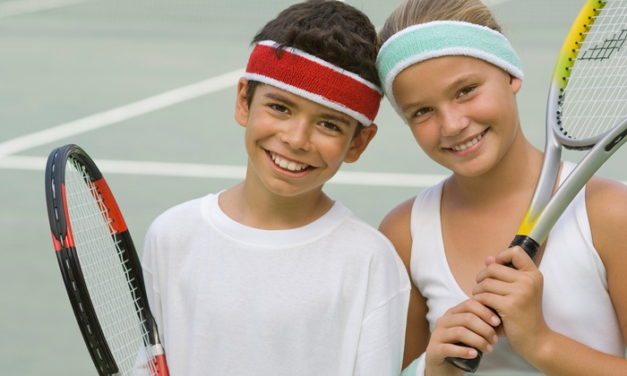Cross Gates Family Fitness - 9: $29 for Five One-Hour Kids' Group Tennis Lessons at Cross Gates Family Fitness ($70 Value)