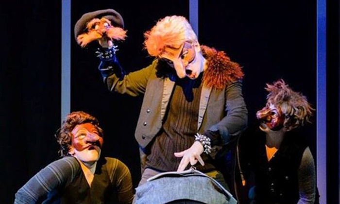 """A Clockwork Orange"", ""The Pillowman"", and  ""Brainpeople"" - Luna Theater Company: ""A Clockwork Orange"" or 3-Play Package with ""The Pillowman"" and ""Brainpeople"" at Luna Theater Company (Up to 47% Off)"