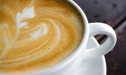 $12 for Two Groupons, Each Good for $10 Worth of Drinks & Food at Compass Coffeehouse ($20 Total Value)